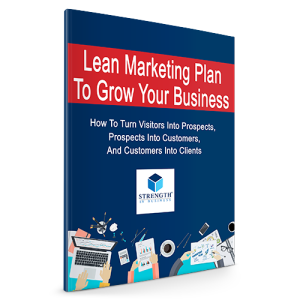 Lean Marketing Plan - Strength In Business