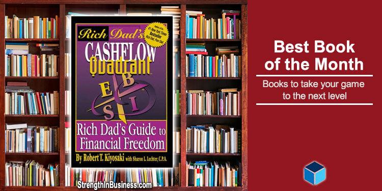 Best Book Of The Month CashFlow Quadrant By Robert Kiyosaki