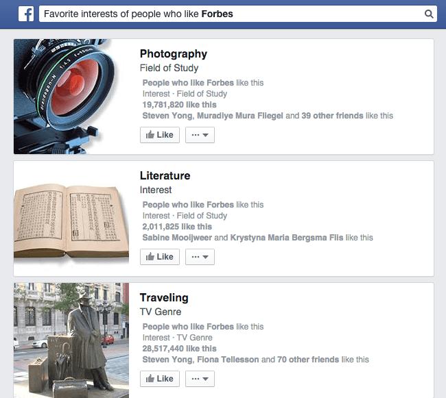 Facebook Marketing Tips - Facebook Graph Search
