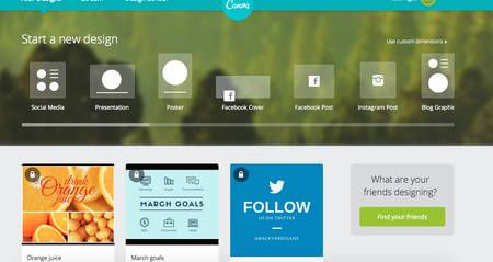 Social media marketing tools - Canva