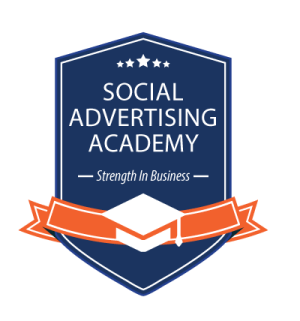Social Advertising Academy Logo - StrengthInBusiness