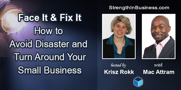StrengthInBusiness Krisz Rokk and Mac Attram About Small Business
