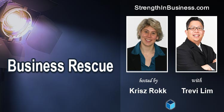 StrengthInBusiness Podcast Krisz Rokk and Trevi Lim